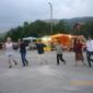 На хорото в Боснек: Славка, Таня, Тодора, Владимира